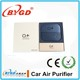 new O2 mini portable air purifier for car use