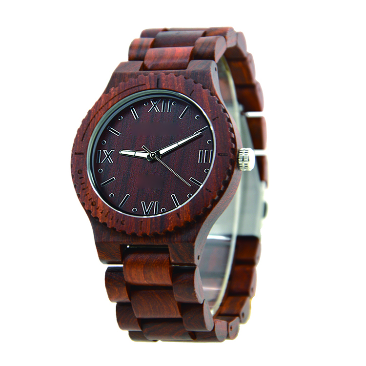Wholesale Custom Logo Mens Wooden Watch Analog Quartz Lightweight Handmade Wood Wrist Watch фото
