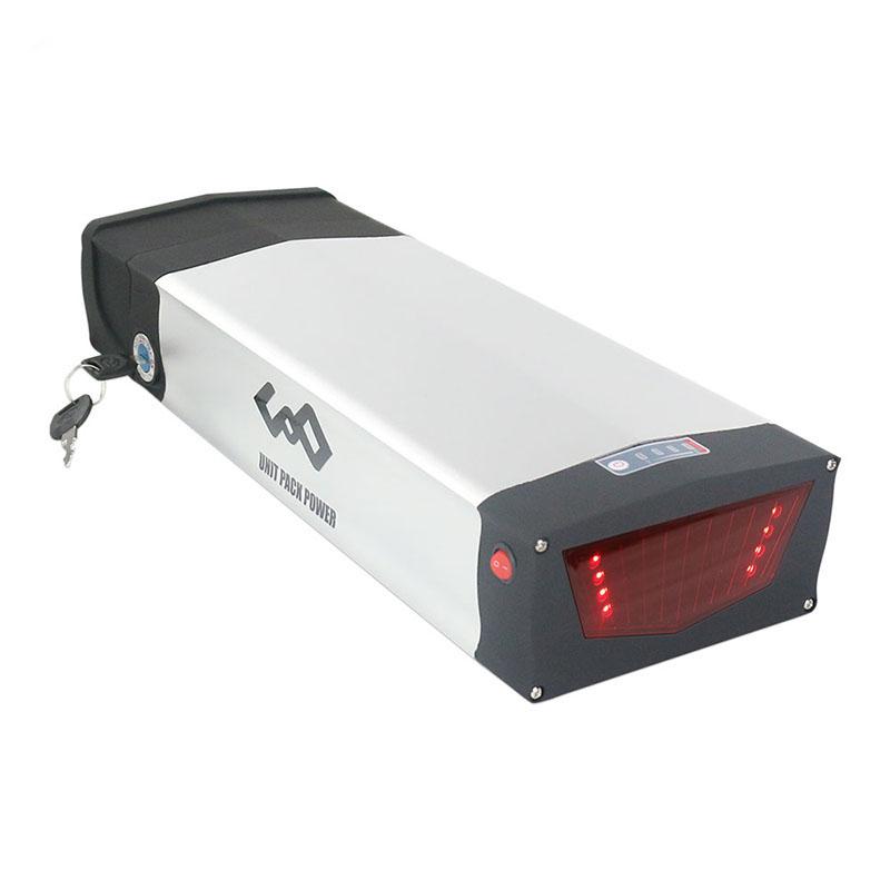 Electric bike akku rear rack 48v 20ah 1000W 1500w lithium ebike battery with USB