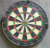 Bristle Dartboard with Staple-Free, blade wire, reduce bounts out