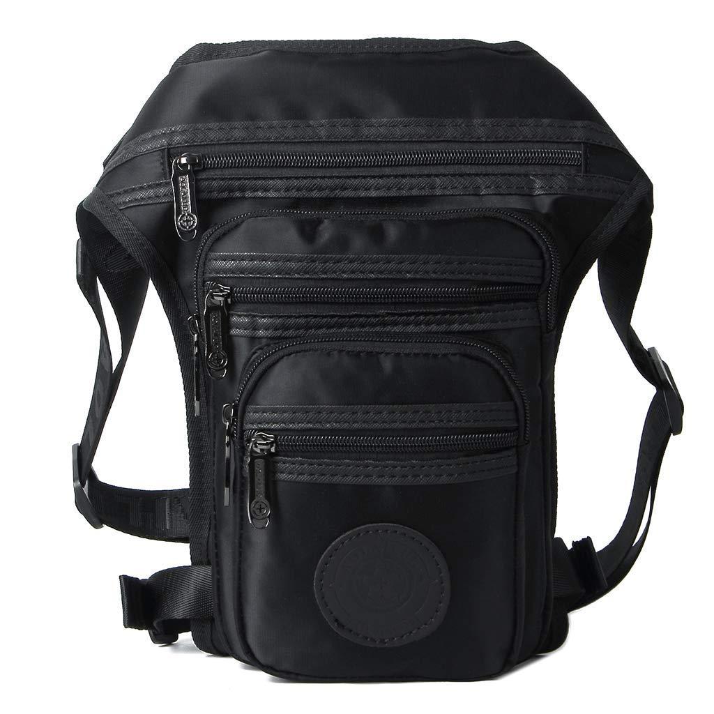 Xincu Waist Bag - Tactical Fanny Pack Drop Leg Bag Belt Multi-Purpose Bags Motorcycle Outdoor Activities, Men