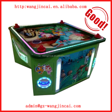 coin operated desktop hockey sports machine I Love Gumball air hockey race arcade game machines