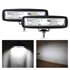 Cheap Truck 6Inch Flood Spot Beam 20 W 4x4 ATV Auto Square LED Work Light for Car