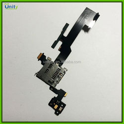 Wholesale tested SD card holder and volume button flex cable for HTC One M8