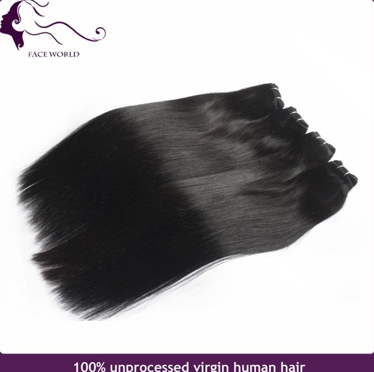 Peruvian straight hair weaving peruvian human hair