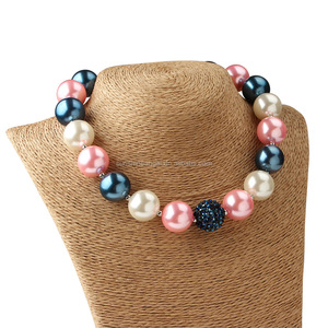 Wholesale Kids Chunky Bubblegum Beaded Necklace Jewellery