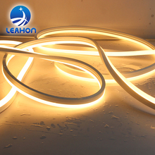 Decorative waterproof led light smd2835 led neon flex rope light dimmable silicone led neon light
