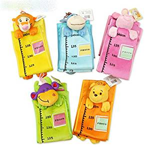 Luxbody(TM) Baby Toys of Height Charts with Cartoon style and plush toys ( put photos) cloth toys WJ203-WJ208
