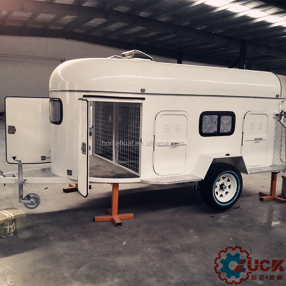 Hot sale dog trailer for 4 - 8 dogs