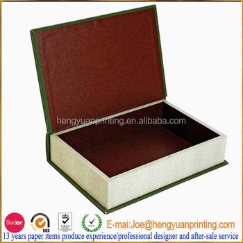 Attirant Fashion Gift Boxes Books Fake Book Storage Box