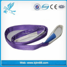 webbing slings, eyes hole webbing, one way sling 4t, wheel straps