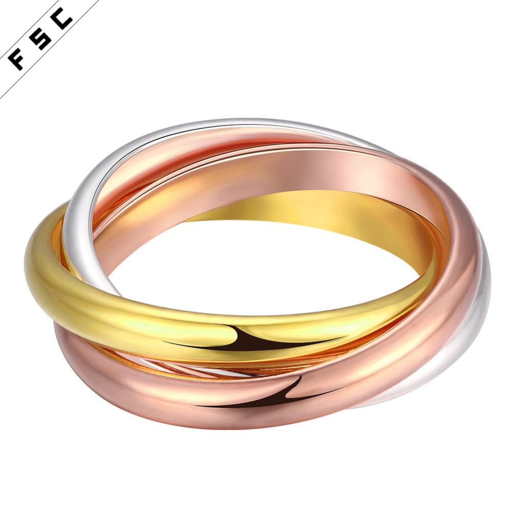 wholesale Fashion simple design silver plated stainless steel wedding engagement stainless steel ring for men women