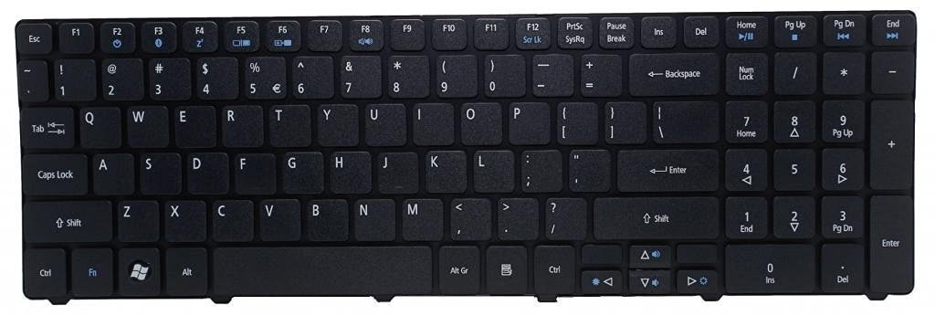 Dosens Laptop Keyboard for Acer Aspire 5250 5253 5349 5560 5560G 5733 5733Z 7250 7552 7552G 7739 7739G 7739Z 7739ZG 7750 7750G 7750Z 7751 7751G