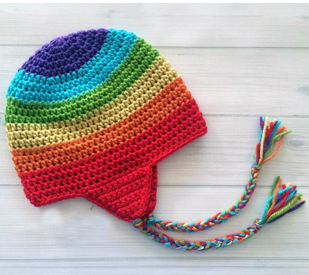 Crochet Rasta Jamaica Beanie Hatearflap Beanie Knitting Patterns