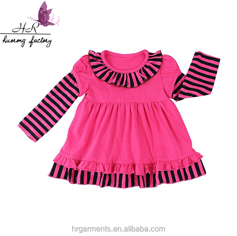 boutique children clothes fashion kids fall winter dress latest design  ruffle cute baby girl cotton frock wholesale in china 0d49065833