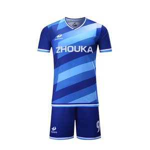 Custom Design Fashion Soccer Jersey Sublimated Football Soccer Jersey