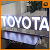 Outdoor LED Stainless Steel Halo Backlit Metal Letter Signs-Factory Direct