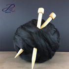 80% Acrylic 20% Wool Chunky Soft Roving Jumbo Yarn Arm Knitting Yarn Navy Big Knitting Yarn Jumbo Vegan Roving