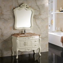 PVC Classic Storage Wall Bathroom Vanity Cabinet