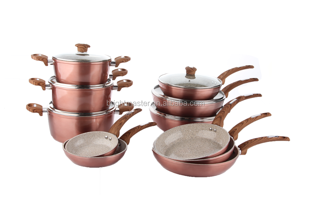Aluminum Prestige Non Stick Granite Cookware Set Buy