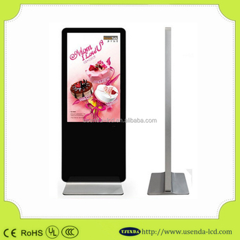 Large Size 55 Inch Indoor Advertising Lcd Tv Flexible Transparent ...