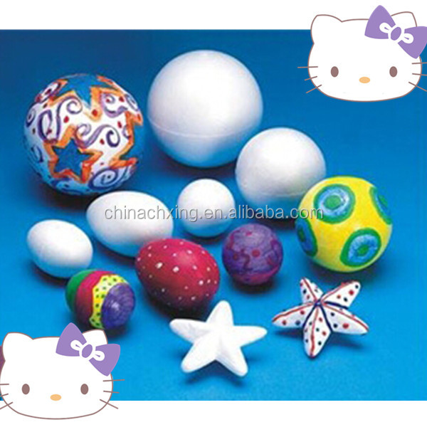 All shapes foam eggs ,stars ,balls for Christmas decorations