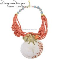 Red coral price necklace