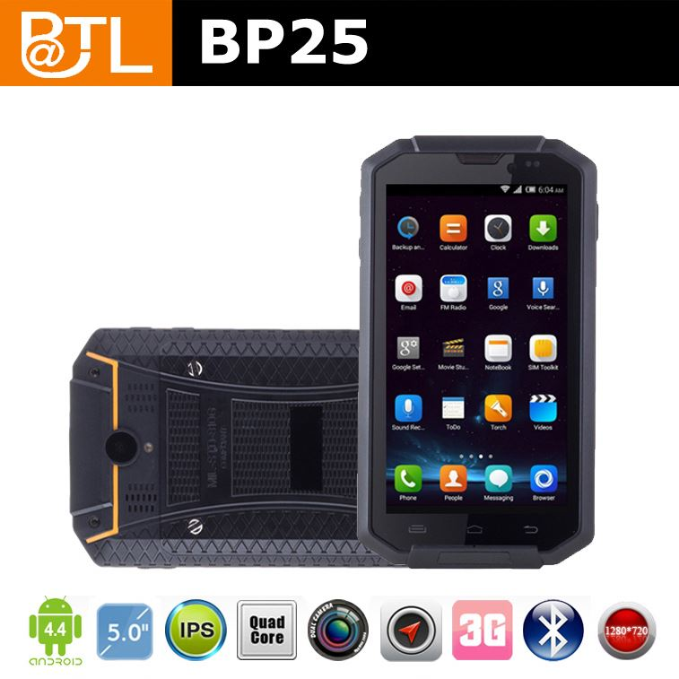 "LT690 BATL BP25 small screen Unlocked WCDMA China cell phone rugged with NFC with 5""screen"