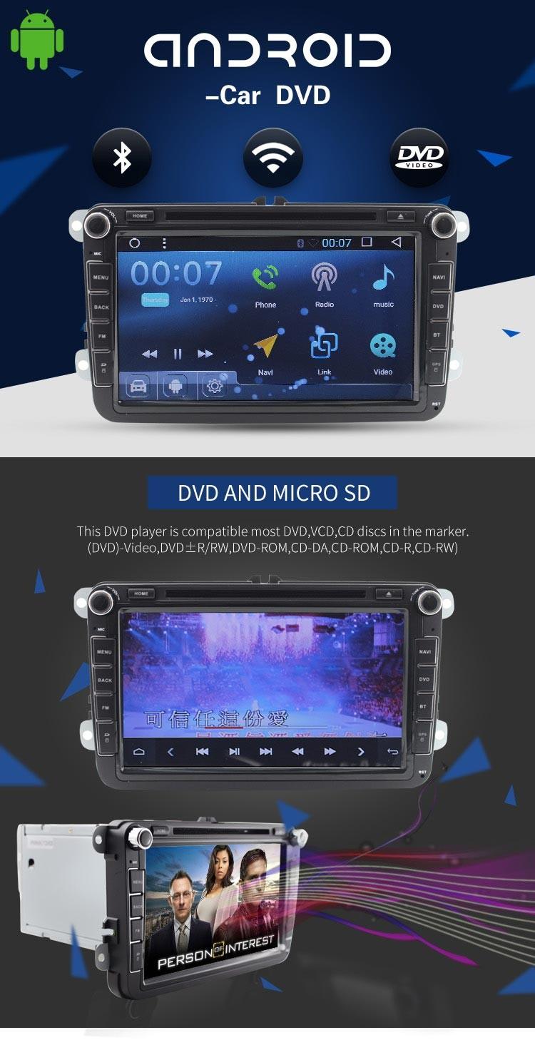 Autoradio Dvd Player Gps Navigation Car Radio For Android 6 0 V W
