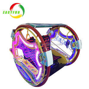 Indoor amusement happy rides kid car amusement parks near me