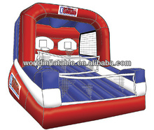 inflatable basketball goal for great fun