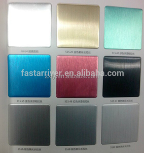 hairline brush finish aluminum sheet