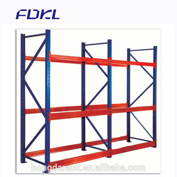 Light duty racking system storage pallet rack
