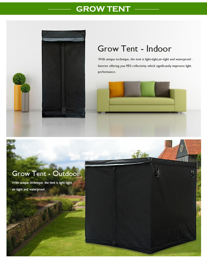 140x140x200 indoor garden greehouse kit 600d mylar grow tent & 140x140x200 Indoor Garden Greehouse Kit 600d Mylar Grow Tent - Buy ...