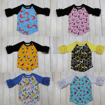 Animal print softball sleeve raglan baby raglans wholesale for Wildlife t shirts wholesale