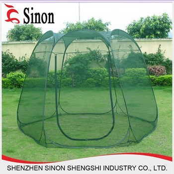 Wholesale Six angles spring steel Large foldable pop up mosquito net tents & Wholesale Six angles spring steel Large foldable pop up mosquito ...