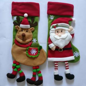bb70cc9312a Santa Snowman Penguin Christmas Stockings