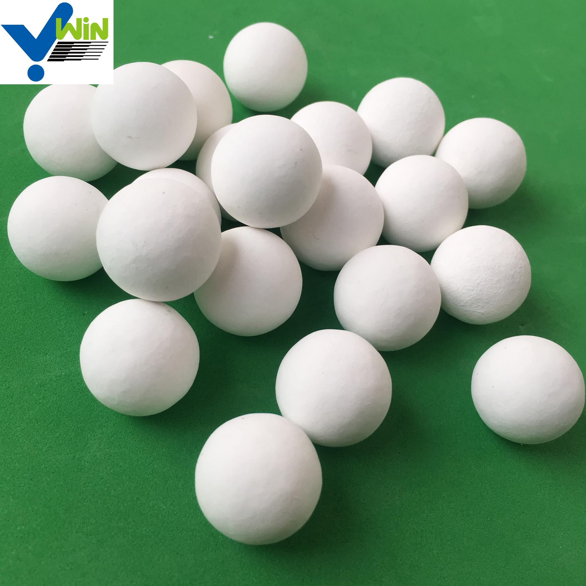 White inert aluminium balls of chinese supplier for packing