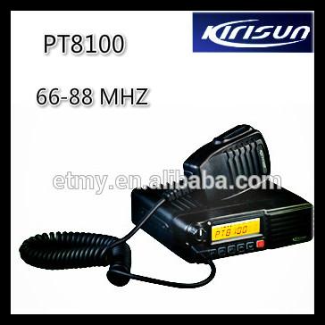 Kirisun Pt8100 Dmr Radio Professional Vhf 66-88 Mhz Mobile Radio ...