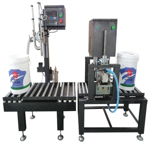 Manual grease weighing and filling machine