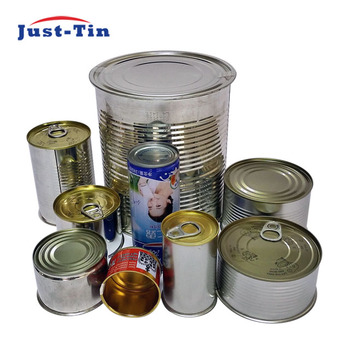 f582a34ed6 Wholesale three piece round tin can manufacturer for canned food product