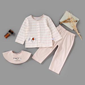 Cute Cartoon Baby Girl Top Wild Pants Outfits 2PCS Baby Clothes Set