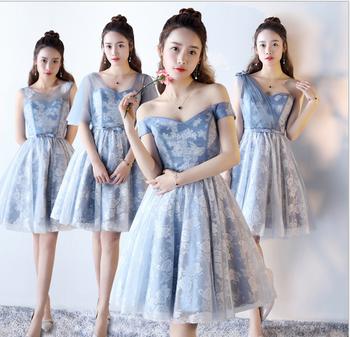 a0310284109 Woman s Cute Short Dress Wedding Dress Bridesmaid Dress 2018 ...