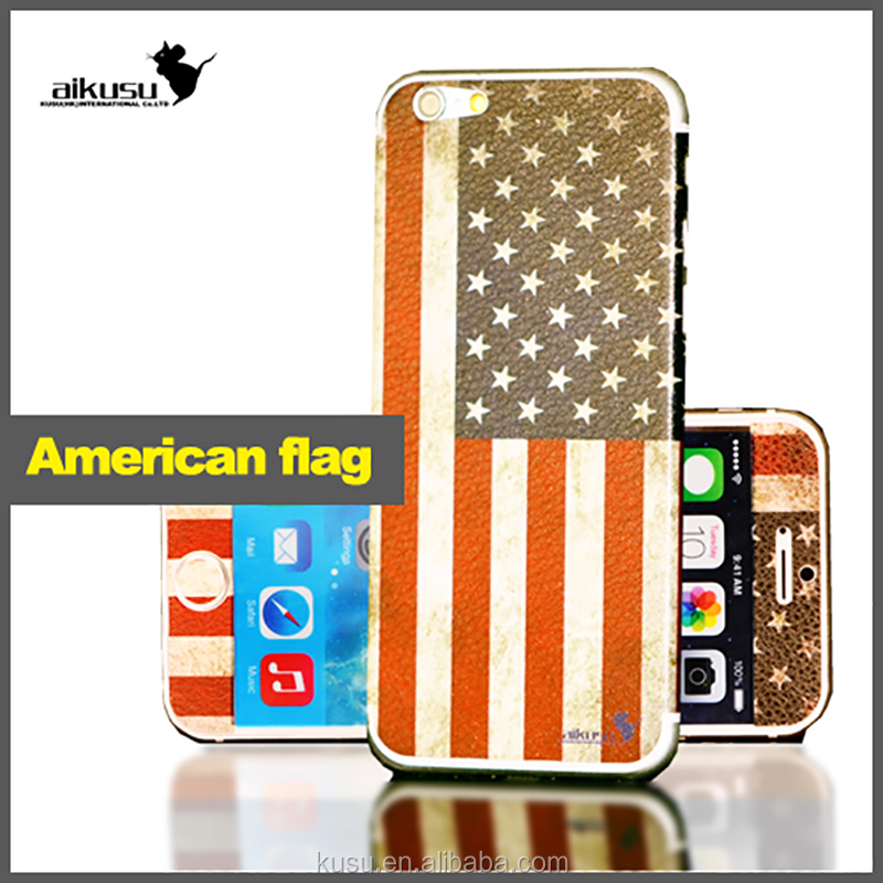 National flag design for cell phone Stick on surface