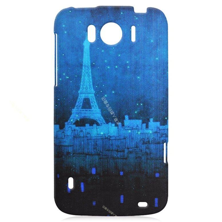 New Arrive Sell Like Hot Cakes Blue Iron Tower Castle Hard Plastic Case Cover For Nokia Lumia 830