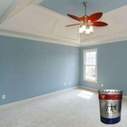 High coating rated interior latex paint for home interior wall decoration