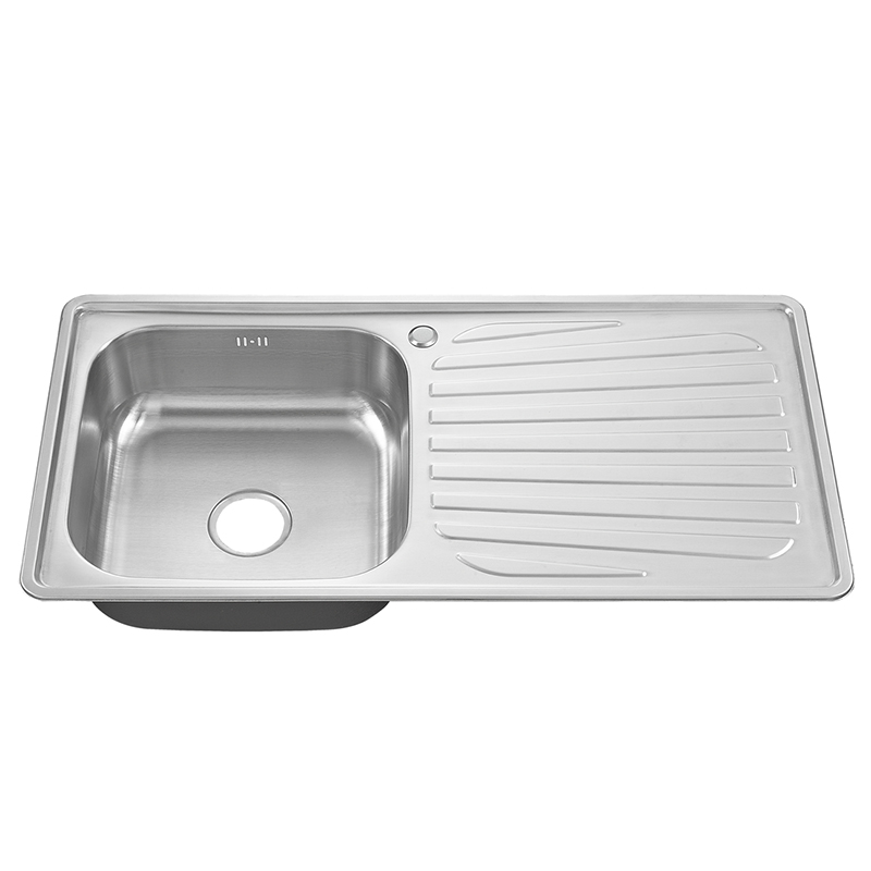 Popular Used Commercial Modern Kitchen Designs Single Bowl Stainless Steel Sink With Drainboard Buy Single Sink Single Bowl Stainless Steel Sink Used Commercial Stainless Steel Sinks Product On Alibaba Com