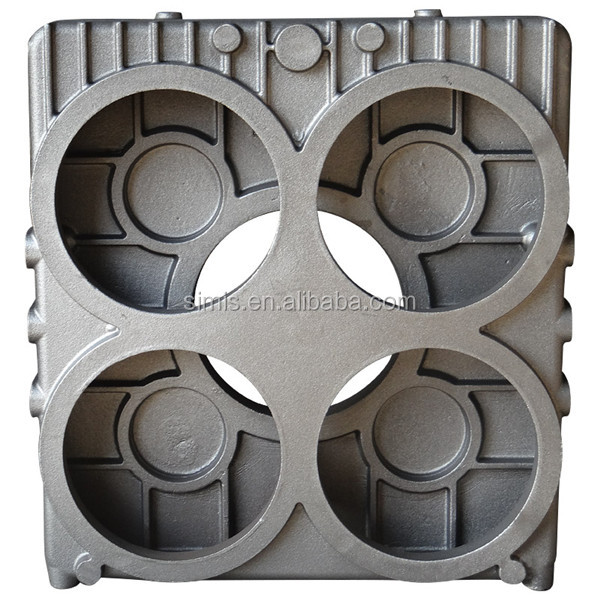 China Customized steel / send casting / aluminum casting air compressor housing