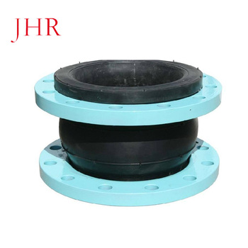 Soft connection single sphere galvanized flange rubber expansion joint