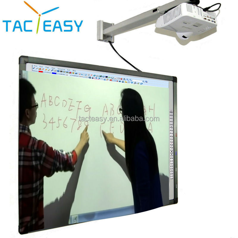 Finger touch magnetic smart board interactive whiteboard